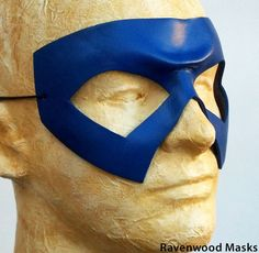 Halloween costume - dark blue leather mask cosplay for Kitty Pryde, Shadowcat, Captain America