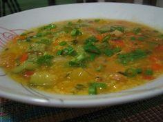 canjiquinha de frango com legumes