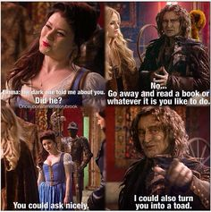 He's totally falling for the help ;) #rumbelle