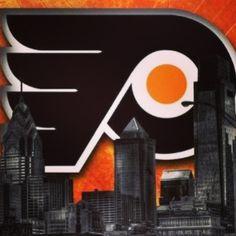 Let's go Flyers Flyers Hockey, Blackhawks Hockey, Hockey Mom, Chicago Blackhawks, Hockey Girls, Hockey Players, Ice Hockey, Philadelphia Flyers Logo, Hockey Stanley Cup