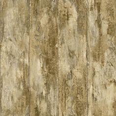 "Nautical Living Planks 33' x 20.5"" Wood Wallpaper"