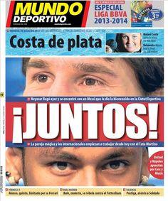 Messi & Neymar | FC Barcelona Noticias