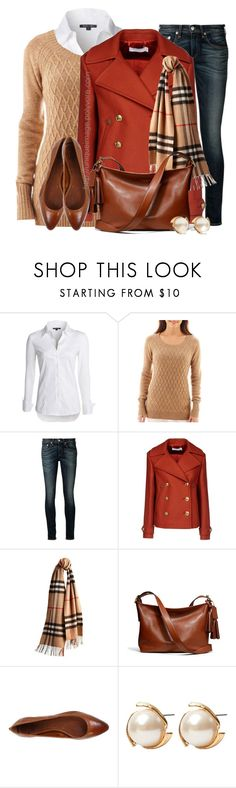 """Fall/Winter Wear"" by uniqueimage ❤ liked on Polyvore featuring NIC+ZOE, jcp, rag & bone, Altuzarra, Burberry, Coach, Frye and Louche"