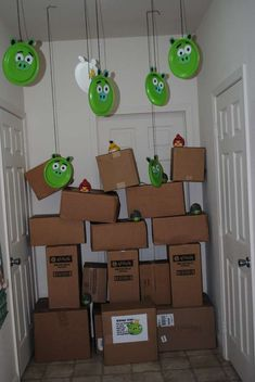 Angry Birds Birthday Party Ideas | Photo 2 of 20 | Catch My Party