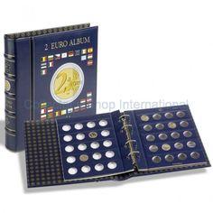 Vista Άλμπουμ για 80 νομίσματα των 2 ευρώ με σελίδες και θήκη 341017