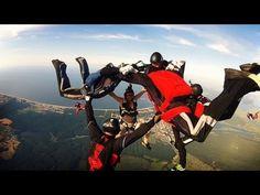 Usedom aus der Vogelperspektive - unsere Empfehlung der Woche: Fallschirmspringen ab Flughafen Heringsdorf. Wir haben's Ende Juli für euch getestet - unsere Meinung: es fetzt! Skydiving, Birds Eye View