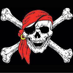 pirate skull tattoos / Ink + skull tattoos for women / skull tattoos for men / small skull tattoos / simple skull tattoos / skull tattoos flowers / sugar skull tattoos / skull tattoos sleeve / skull tattoos Pirate Skull Tattoos, Small Skull Tattoo, Skull Tattoo Flowers, Sugar Skull Tattoos, Skull Tattoo Design, Flower Tattoos, Pirate Art, Pirate Life, Simple Skull