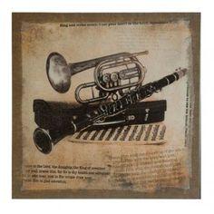 Vintage instruments canvas