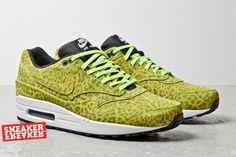 Sneakers  Nike Air Max 1 : Nike Air Max 1 FB Yellow Leopard
