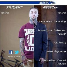 #AIESEC being an AIESECer