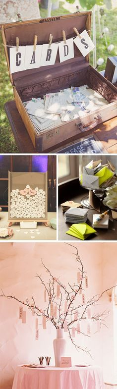 Libros de firmas originales en las bodas #weddingideas #weddingdecor #wedding…