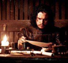 "Jon Snow in The Game of Thrones episode 10 ""Mothers Mercy"" season 5. Kit Harrington"