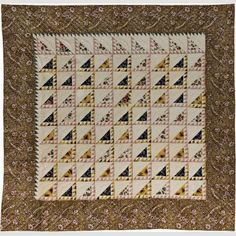 Lady of the Lake Quilt Artist unidentified 1837
