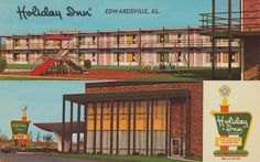 Holiday Inn - Edwardsville, Illinois U.S. Highway By-Pass 66, 40 and Ill. 157 Edwardsville, Illinois 150 Spacious rooms - Dining Room - Cocktail Lounge - Swimming Pool - Banquet Rooms - Courtesy Car Service to and from St. Louis Municipal Airport