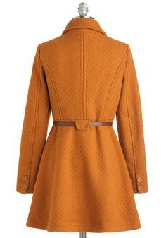 Laura's Pick of the Pumpkin Patch Coat, #ModCloth