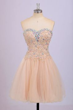 Short Dress A-line Sweetheart Prom Dresses