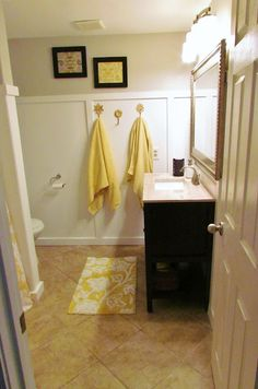 177 Best Yellow Bathroom Remodel Images In 2019 Yellow