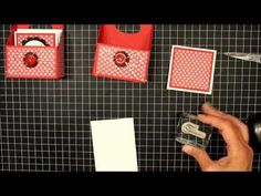 "My little craft blog: 3"" x 3"" Cards, Gift Box & Video"
