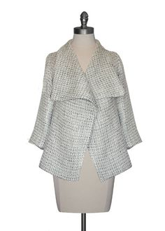 Fold Collar Jacket from Costa Blanca