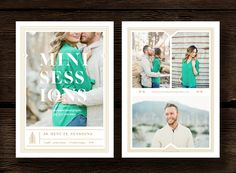 Holiday Mini Session Template by Bittersweetdesignboutique on Creative Market