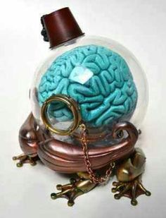 Wtf ( I have no idea what this is but I sort of want to make a blue brain alone. Like just blue polymer clay. idk kinda cool. lol )