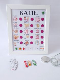 Unique Personalised pre-school magnet Reward Chart with treats, imagery reward system, command centre Toddler Routine Chart, Toddler Chart, Behavior Chart Toddler, Daily Routine Chart, Behaviour Chart, Child Behaviour, Reward System For Kids, Reward Chart Kids, Chore Chart Kids