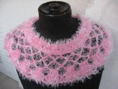 Royal pink caplet by dnicecraft on Etsy, $33.00
