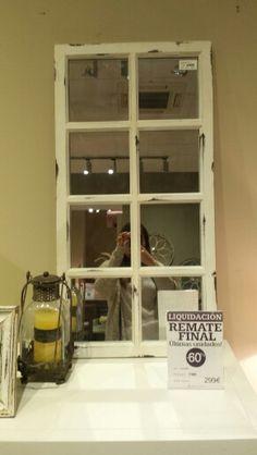 Ventana espejo de Banak