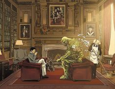 @thatkevinsmith how amazing is this image of Bruce and Swamp Thing having tea at Wayne Manor from Batman issue 23?? By Tom Ming and Mitch Gerards  Download this image at nomoremutants-com.tumblr.com  Key Film Dates  Wonder Woman - June 2nd 2017   Justice League  Nov 17th 2017   The Flash  Mar 23rd 2018   Aquaman  Jul 27th 2018   Shazam  Apr 5th 2019  #comicbooks #comicbooks #dccomics   #batman #DamianWayne #joker #gotham #robin #redhood #batmanbeyond #superman #harleyquinn #batgirl…