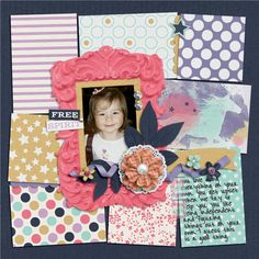 Wild Horses by Tickled Pink Studio #tickledpink and Template Revisited 22 by Scrapping with Liz Layout by mrsashbaugh