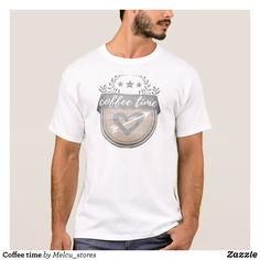 Coffee time T-Shirt - Classic Relaxed T-Shirts By Talented Fashion & Graphic Designers - #shirts #tshirts #mensfashion #apparel #shopping #bargain #sale #outfit #stylish #cool #graphicdesign #trendy #fashion #design #fashiondesign #designer #fashiondesigner #style