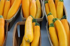 Gluten Free A-Z : Steam Yellow Zucchini for Sweetest flavor