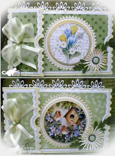Ticket kaart 3d Cards, Cool Cards, Ticket Card, Shabby Chic Cards, Small Cards, Mini Scrapbook Albums, Marianne Design, Pretty Cards, Flower Cards