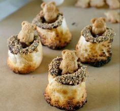 Boozy Teddy Bear S'mores For Grown-Ups Only