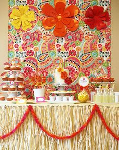 Beach Bash decorations | ... look at this stunning Summer Aloha Party by Hostess with the Mostess