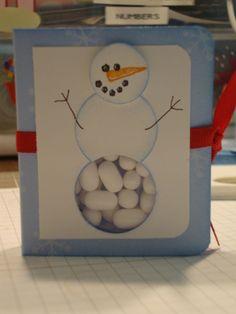 Snowman Tic-Tac Tutorial