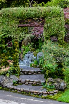 Flower Show Kazuyuki Ishihara, Togenkyo A Paradise on Earth… Garden Show, Dream Garden, Garden Art, Garden Design, Garden Ideas, Chelsea Garden, Asian Garden, Paradise On Earth, Garden Fountains