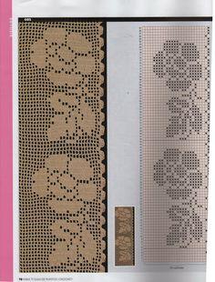 Crochet and arts: Crochet edges