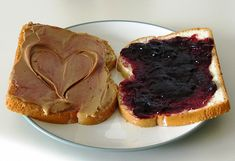 Peanut butter and jelly sandwich-- It's peanut butter jelly time!!!