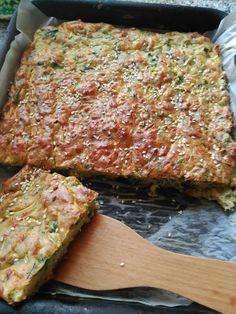 Пирог с кабачком, сыром и зеленью 🧀🍽