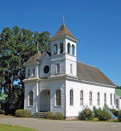 Euhaw Baptist Church, Ridgeland, SC photo by babyfella2007, via Flickr