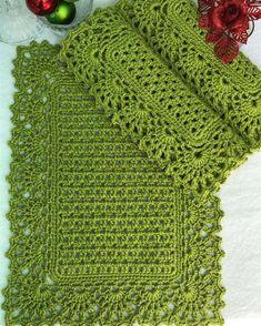 Crochet Table Mat, Crochet Blanket Edging, Crochet Mat, Granny Square Crochet Pattern, Crochet Tablecloth, Crochet Squares, Love Crochet, Crochet Doilies, Crochet Flowers
