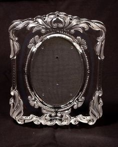 mikasa princess crystal picture frame holds 5x7 photo