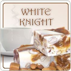 Our White Knight Coffee is flavored with Vanilla Nut and Chocolate Almond. We roast it just before we ship it to you. http://www.veggiesensations.com/products/white-knight-flavored-coffee