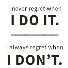 No regrets!! . TAG A FRIEND WHO NEEDS SOME MOTIVATION TODAY! . . #Workoutquote #morningworkout #CocktailsNfitness