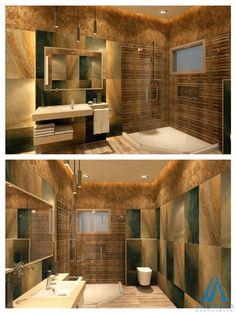 Modern Bathroom Interior 3D Design Optionameradnan Associates Endearing 3D Bathroom Designer Design Decoration