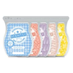 Five Scentsy Bars that are bestselling fragrances in other Scentsy markets around the world.Lucky Star Fruit: This sunny pop of orange, apricot and starfruit is a sweet wish come true.Pacific Sandalwood: Creamy vanilla cashmere and cozy cotton drift over an expanse of warm Pacific sandalwood.Salted Lavender: Classic English lavender mingles with ocean minerals and timberwood for a salty twist on tradition.Strawberry