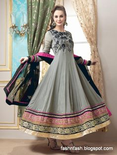 Fashion Design Clothing | ... Anarkali-Fancy-Frock-Clothes-New-Latest-Indian-Suits-Fashion-Dresses-1