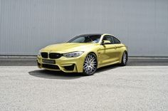 Hamann wheels for the BMW M4 Coupe - http://www.bmwblog.com/2014/07/17/hamann-wheels-bmw-m4-coupe/
