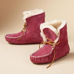 moxie shearling short boots